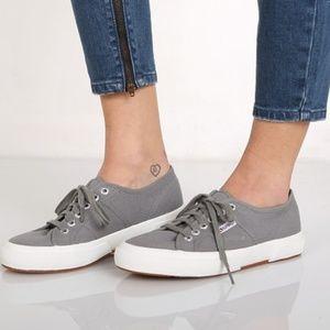 Superga Grey Cotu Sneakers